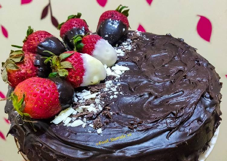 How To Prepare Award Winning Whole Wheat Eggless Dark Chocolate Cake Using Jaggery And Curd All Recipes Easy