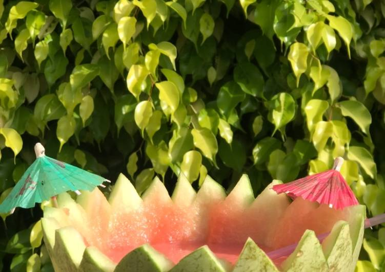 Easiest Way to Make Tasty Watermelon smoothie