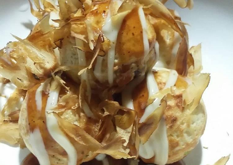 Takoyaki octopus katsuobushi