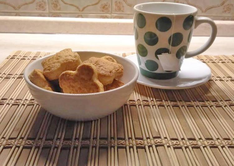Ricetta Biscotti di pasta frolla con l'olio di mais