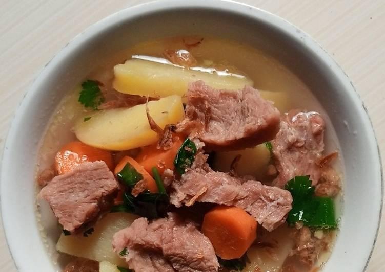 Coba Deh Membuat Sop Daging Sapi Sederhana 3 Enak