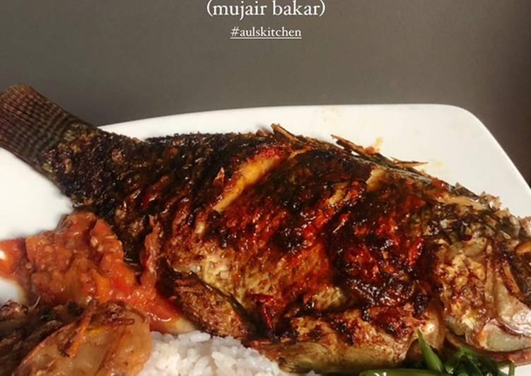 Ikan Mujair Bakar
