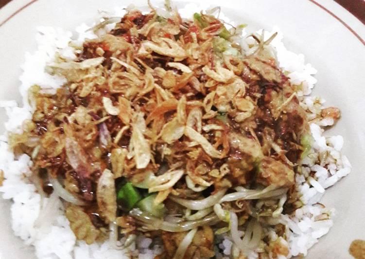 Cara membuat Nasi Lengko Khas Cirebon