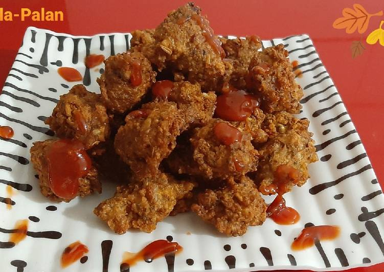 Foods That Make You Happy Sprouted Moong Pakoda