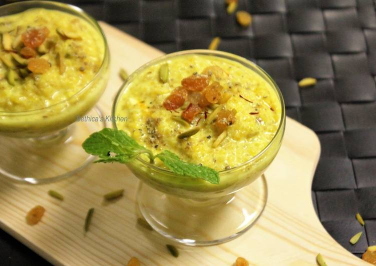 How to Prepare Award-winning Quinoa Kheer