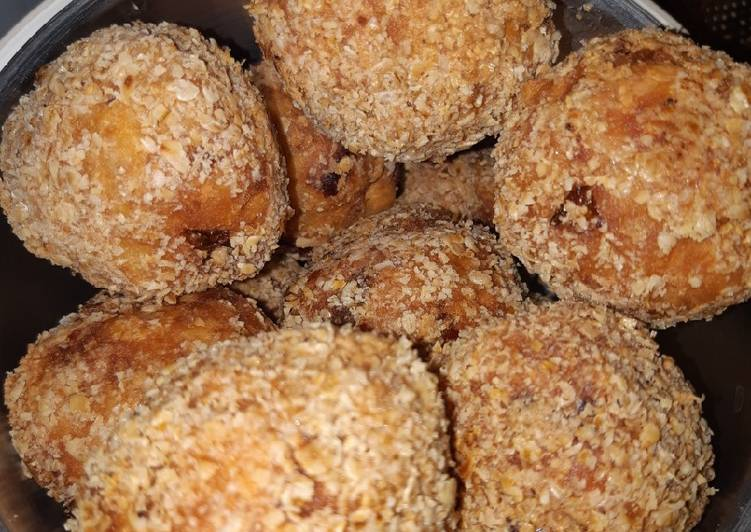 30 Minute How to Make Special Crispy Yam Balls