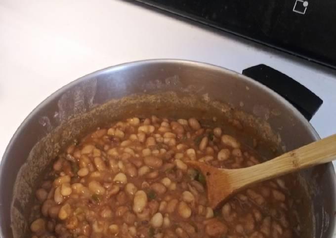 Yummy Scratch Beans Vegetarian and Vegan