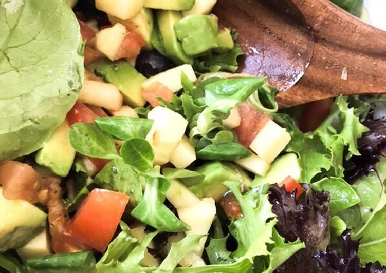 Salade fraîcheur.... ou je fais un malheur !!!!#fromage #brigadesaucechocolat