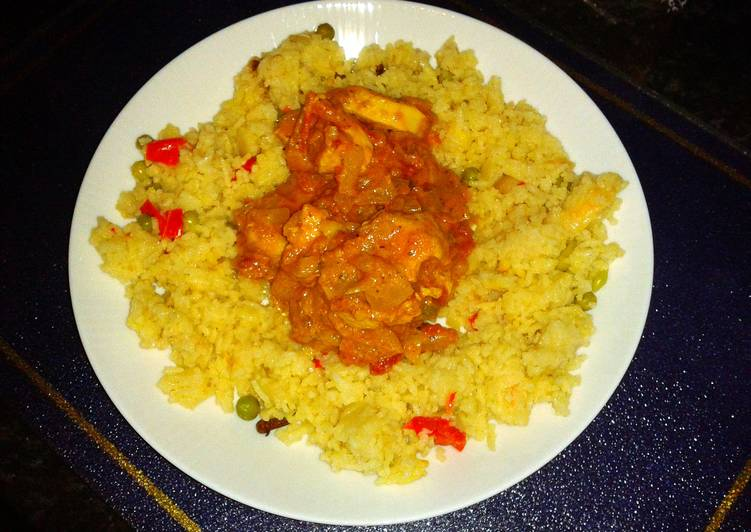 Naga Bhut Jolokia Chicken Curry (HOT)