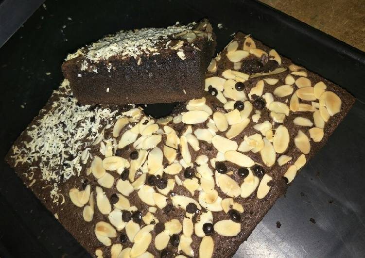 Brownies CheMond (Cheese Almond)