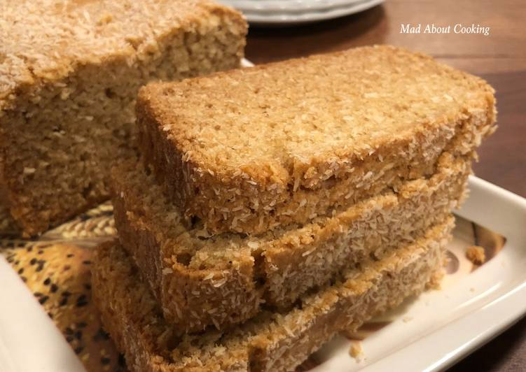 Recipe of Perfect Whole Wheat Vanilla Coconut Cake Tea Time Cake