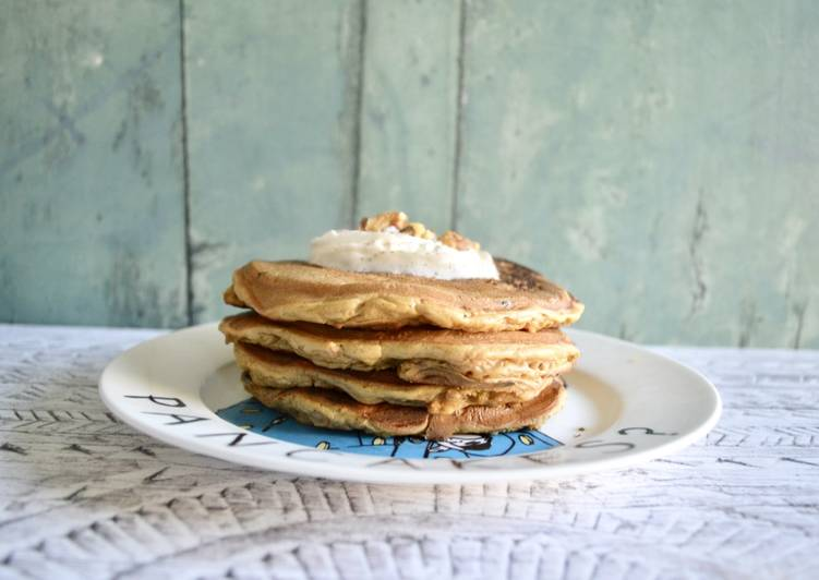 Easiest Way to Make Yummy Carrot Cake Pancakes