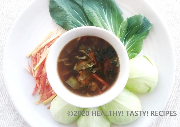 Recipe of Favorite Pak Choi Hot Sour Soup