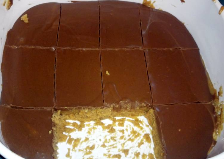"""How to Prepare Ultimate """"Easy No Bake Peanut Butter Bars"""""""