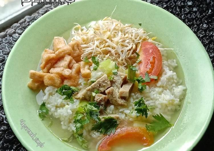 Soto Daging & Tahu Kuah Bening