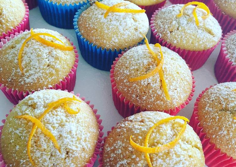 Simple Way to Make Most Popular Orange Cup Cakes