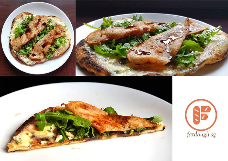 Easiest Way to Make Delicious My Grilled Pizza: The Arugula-Chicken-Bacon