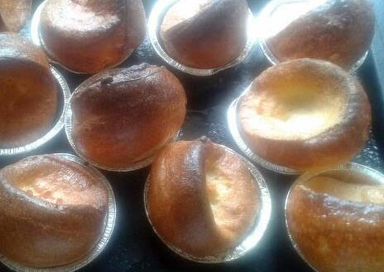 Easiest Way to Prepare Speedy Yorkshire Puddings