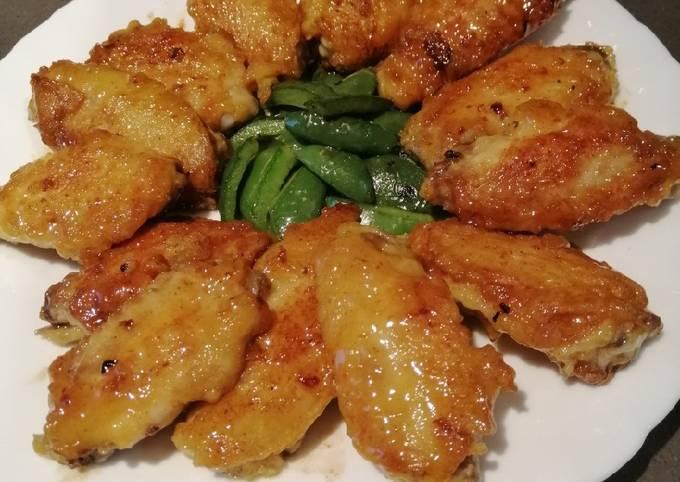 Lemon Chicken Wings