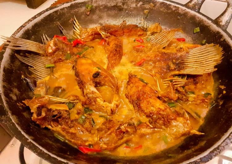 Semur Gurame (menu Legend)