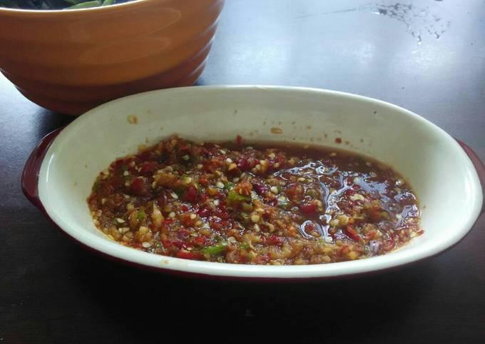 Cara Memasak Sambal bawang merah segar, Lezat