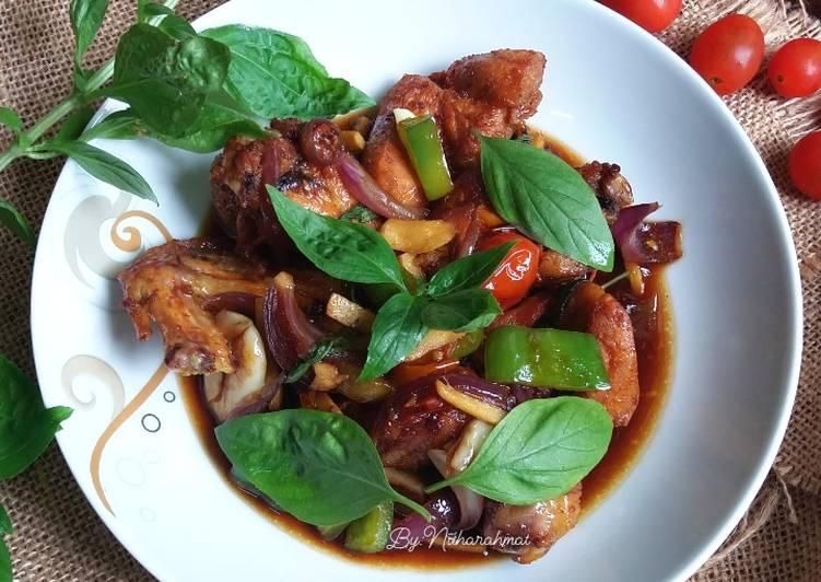 Ayam Goreng Selasih