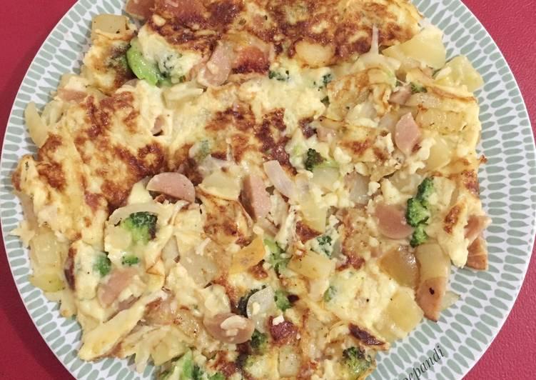Resep Omelette Italia (Simple ala eropa)🍳 Terbaik