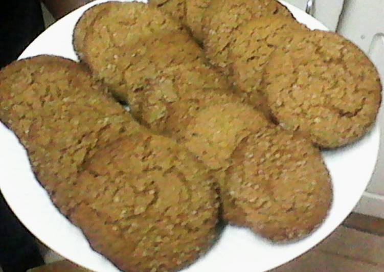 Recipe of Perfect Chewy Ginger Cookies Recipe