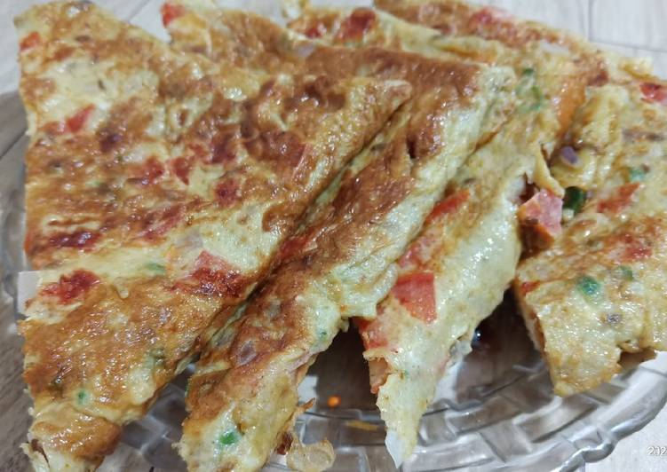 How to Make Homemade Masala Bread Omlette Street Food