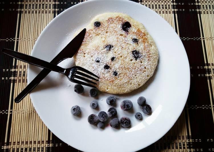 Blueberry Pancakes#themechallenge