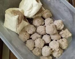 Pentol Daging + Tahu Pentol Homemade