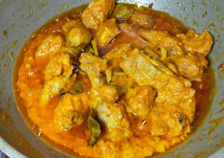 resep cara buat Rendang Ayam Padang