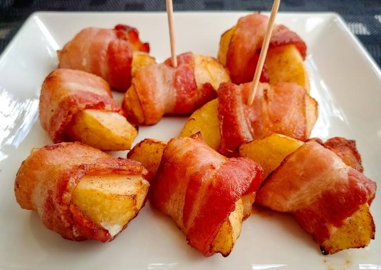 Simple Way to Make Award-winning Bacon Wrapped Apples