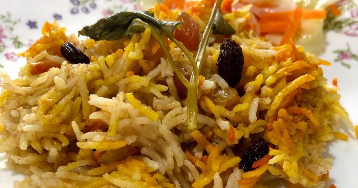 resepi nasi briyani  sedap  mudah oleh komuniti cookpad cookpad Resepi Nasi Briyani Guna Beras Biasa Enak dan Mudah