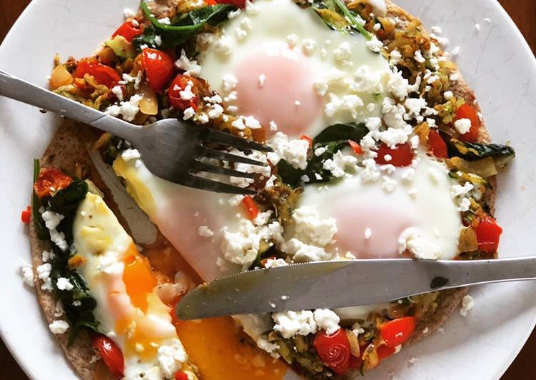 Recipe of Ultimate Healthy Breakfast Pizza