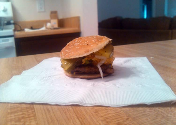 Tini tiny bacon burger