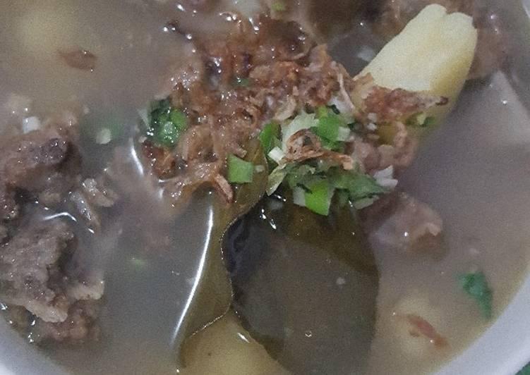 Resep Sup Iga Sapi yang Lezat
