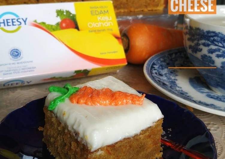 Carrot Cake with Butter Cream Cheese