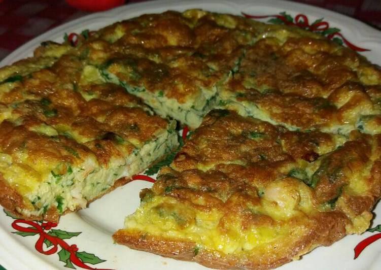 Omelet Udang mix Vegetable