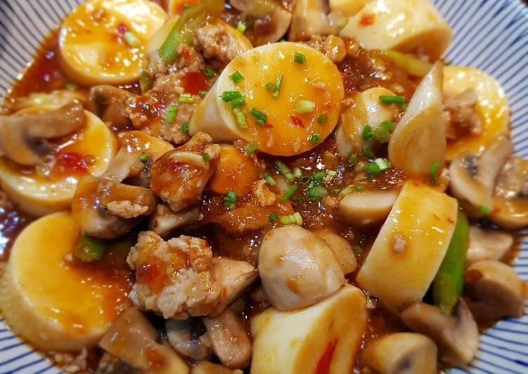 Chilli Bean Tofu Mushroom
