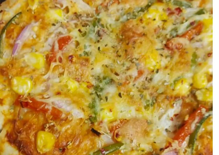Cheese burst pizza