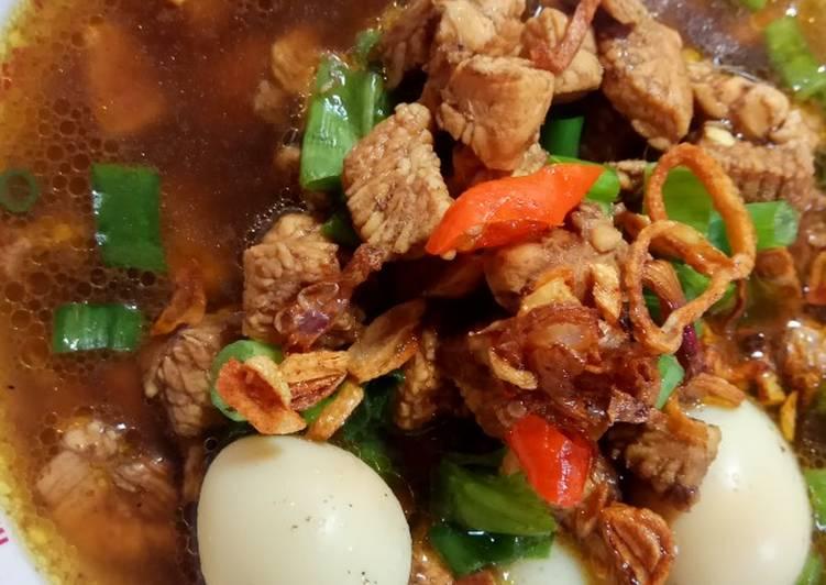 Rawon Ayam Simpel