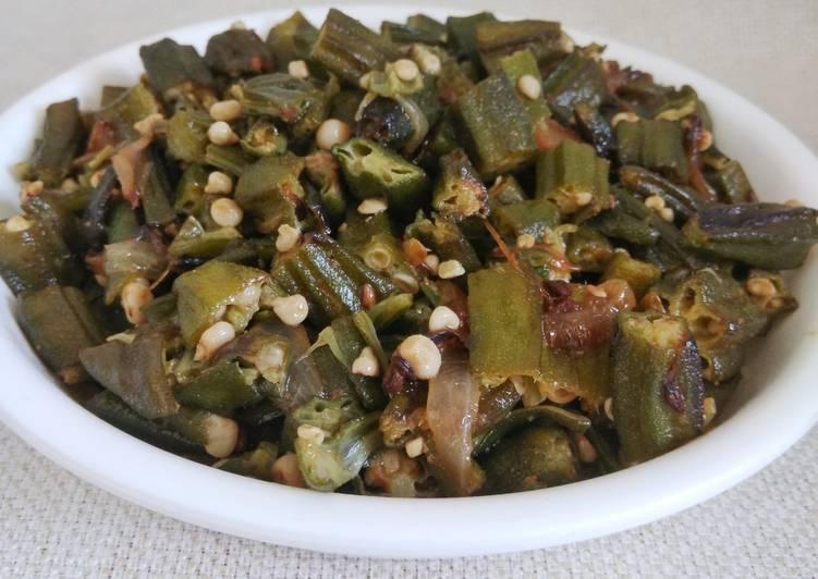Recipe of Homemade Okra/ Bhindi fry