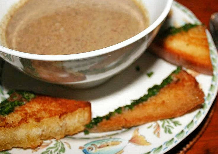 How to Prepare Quick Mushroom Cream Soup