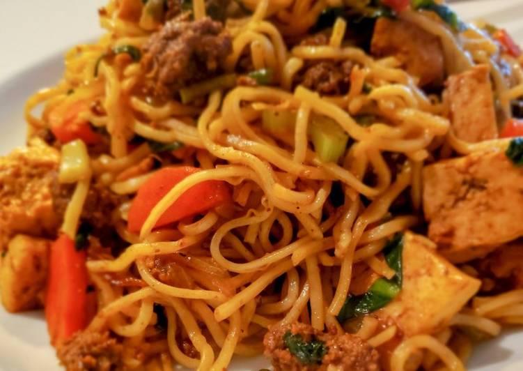 Chicken Chow mein 😍🍝