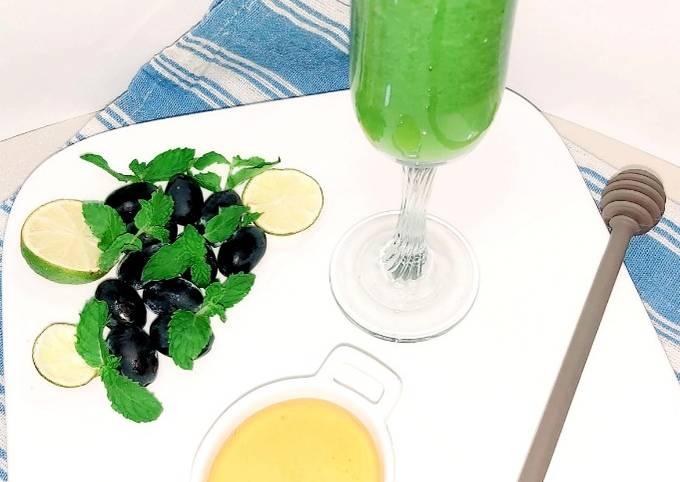 Appetizing verdant