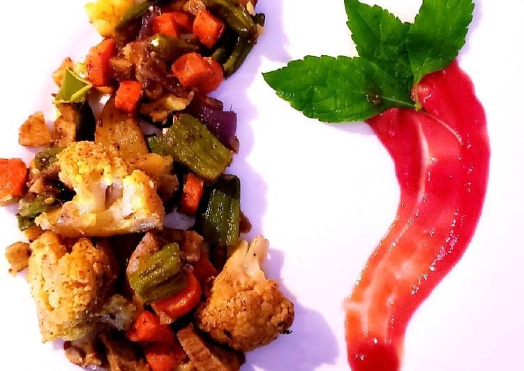 Recipe: Yummy 9-cup mix veg curry ????