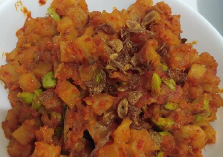 Foods That Make You Happy Sambal Goreng Kentang