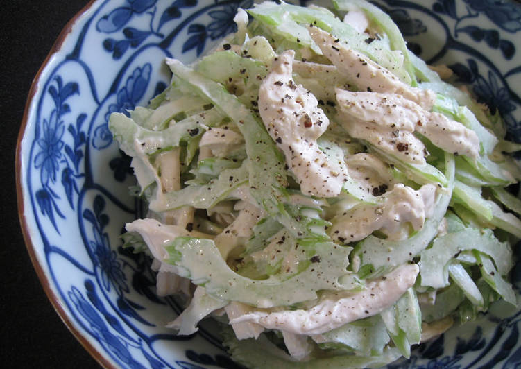 Easiest Way to Prepare Yummy Chicken & Celery Salad