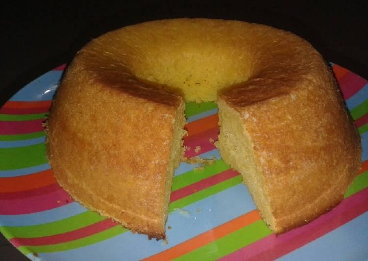 resep membuat Bolu keju panggang simple #BikinRamadanBerkesan - Sajian Dapur Bunda
